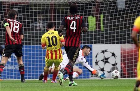 Lionel Messi khao khát tỏa sáng ở cuộc đấu với Milan đêm nay