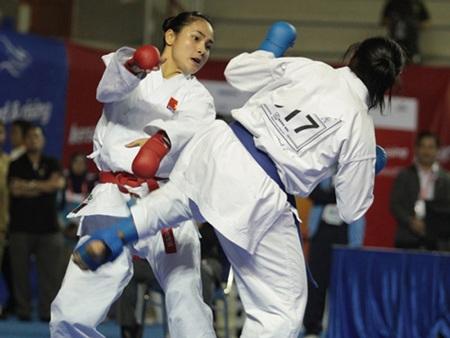 Karate Việt Nam quyết hoàn tất chỉ tiêu vào top 3 toàn đoàn