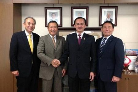 Chuyên gia người Nhật sẽ là trưởng giải V-League 2014?