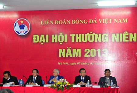 Đại hội thường niên của VFF bàn về các định hướng của bóng đá Việt Nam năm 2014