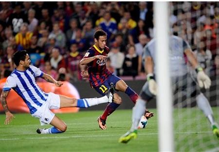 Barcelona luôn đánh bại Sociedad trong các trận đấu gần đây