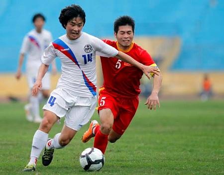 SV Hàn Quốc không phải đội bóng dễ bắt nạt - Ảnh: Gia Hưng