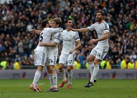 Real Madrid đang đạt phong độ rất cao