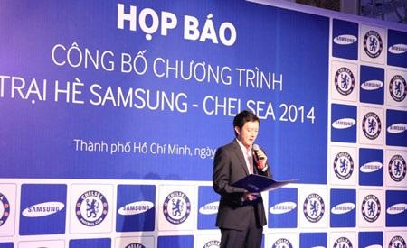 Khởi động trại hè bóng đá Samsung-Chelsea 2014 tại Việt Nam