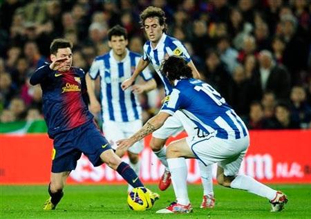 Barcelona vẫn chờ đợi vào khả năng ghi bàn của Lionel Messi