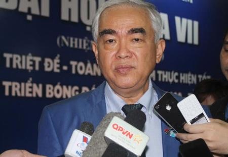 Chủ tịch VFF Lê Hùng Dũng khẳng định sẽ chống tiêu cực đến cùng