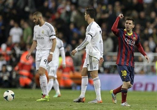 Real Madrid đã thua Barca ở cả 2 cuộc đối đầu ở La Liga năm nay