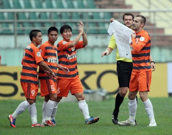 Ninh Bình đã có mặt ở vòng 2 - Ảnh: Gia Hưng