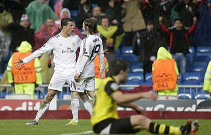 Ronaldo tỏa sáng trong chiến thắng của Real Madrid
