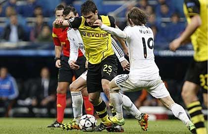 Dortmund bất lực trước một Real Madrid quá mạnh