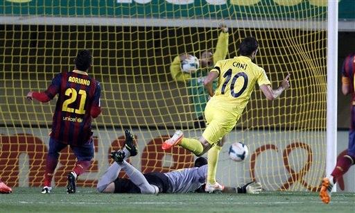 Villarreal bất ngờ có được hai bàn thắng dẫn trước
