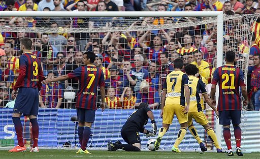 Vượt qua khó khăn, Atletico đã không gục ngã trong 90 phút ở Nou Camp