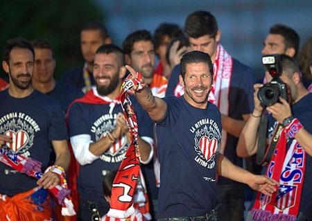 HLV Simeone đã mang đến nhiều nét mới cho Atletico trong 2 năm gần đây