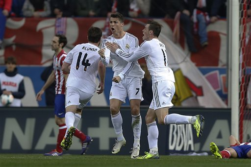 Real Madrid đang ở vào thế sức nhàn đấu sức mỏi trước Atletico