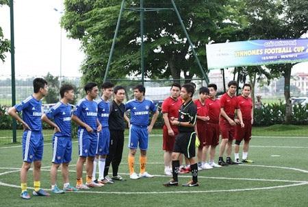 Những sắc màu rực rỡ tại lễ khai mạc Vinhomes Football Cup 2014