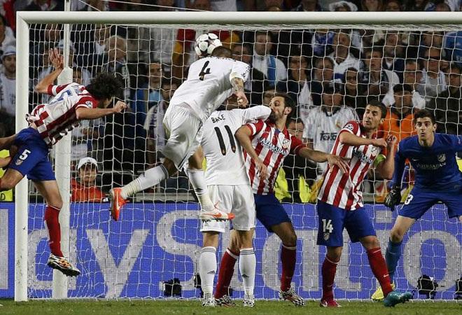Bàn thắng của Ramos là điểm nhấn trong chiến thắng của Real Madrid