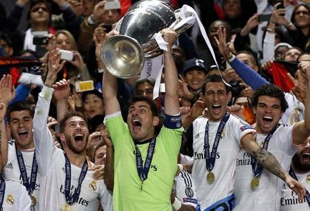 Real Madrid vô địch Champions League sau 12 năm chờ đợi