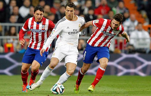 Hàng thủ Atletico sẽ phải hết sức dè chừng C. Ronaldo