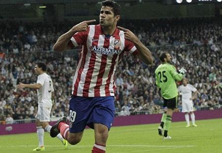 Atletico sẽ gặp nhiều tổn thất nếu Diego Costa không đá chính