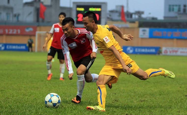Thanh Hóa chơi trên cơ trước Đồng Nai trong suốt 90 phút - Ảnh: Gia Hưng
