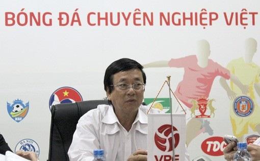 Tổng giám đốc (TGĐ) VPF ông Phạm Ngọc Viễn