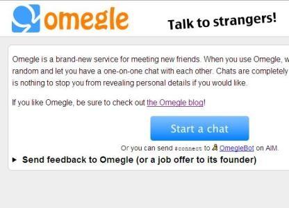 Lạ lẫm chat ẩn danh Omegle - 1