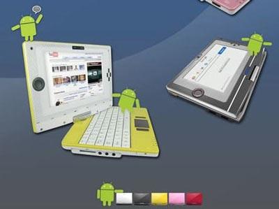 Netbook Android đầu tiên chỉ… 250 USD - 1