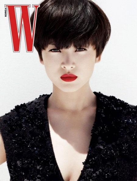 Song Hye Kyo cá tính với tóc ngắn - 1