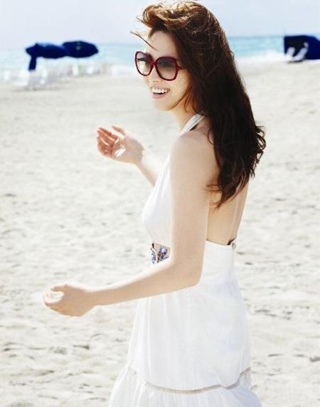 Song Hye Kyo cá tính với tóc ngắn - 10