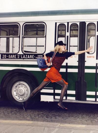 Anja Rubik và Natasha Poly khoe chân dài trên Vogue - 4