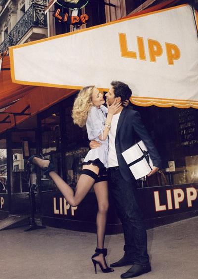 Anja Rubik và Natasha Poly khoe chân dài trên Vogue - 3