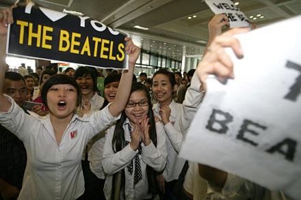 Nhóm nhạc mô phỏng The Beatles xuất hiện tại Thủ đô  - 6