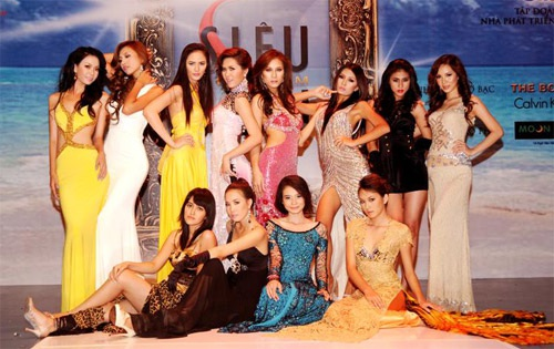 Những hình ảnh đầu tiên của Siêu mẫu Việt Nam 2009 - 15