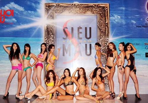 Những hình ảnh đầu tiên của Siêu mẫu Việt Nam 2009 - 14