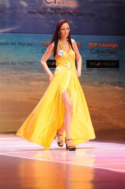 Những hình ảnh đầu tiên của Siêu mẫu Việt Nam 2009 - 11