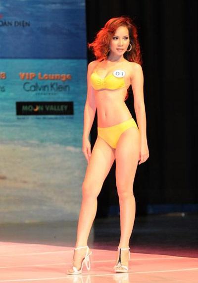 Những hình ảnh đầu tiên của Siêu mẫu Việt Nam 2009 - 7