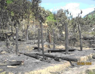 Hỏa hoạn thiêu rụi 11 ngôi nhà, 7 người bị thương - 3
