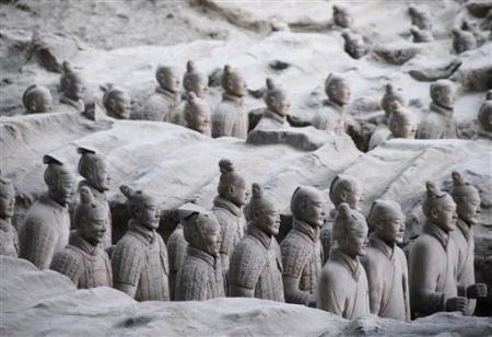 Chùm ảnh: Đội quân đất nung 8.000 binh mã của Tần Thủy Hoàng - 14