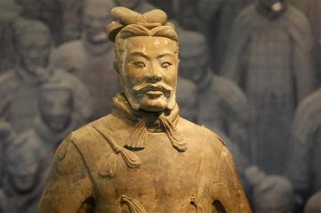 Chùm ảnh: Đội quân đất nung 8.000 binh mã của Tần Thủy Hoàng - 6