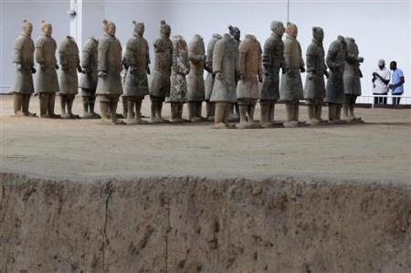 Chùm ảnh: Đội quân đất nung 8.000 binh mã của Tần Thủy Hoàng - 3