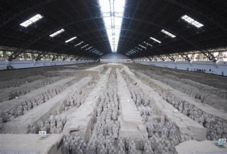 Chùm ảnh: Đội quân đất nung 8.000 binh mã của Tần Thủy Hoàng - 1
