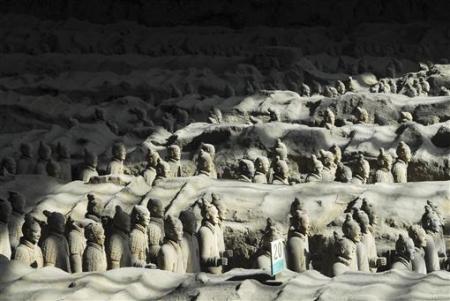 Chùm ảnh: Đội quân đất nung 8.000 binh mã của Tần Thủy Hoàng - 13