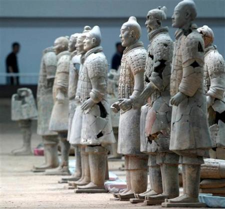 Chùm ảnh: Đội quân đất nung 8.000 binh mã của Tần Thủy Hoàng - 11