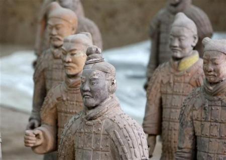 Chùm ảnh: Đội quân đất nung 8.000 binh mã của Tần Thủy Hoàng - 10