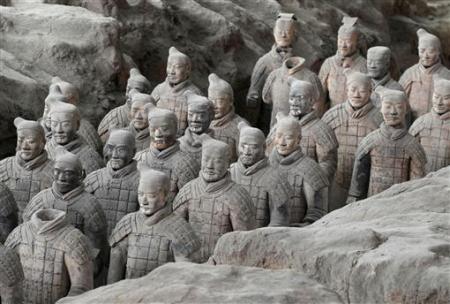 Chùm ảnh: Đội quân đất nung 8.000 binh mã của Tần Thủy Hoàng - 7