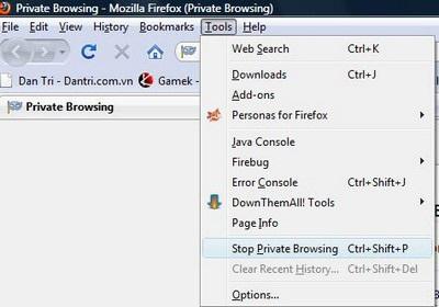 Ấn tượng đầu tiên về bản thử nghiệm Firefox 3.5 RC - 3