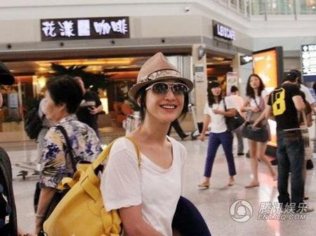 Châu Tấn xuất hiện sau khi chia tay bạn trai - 2