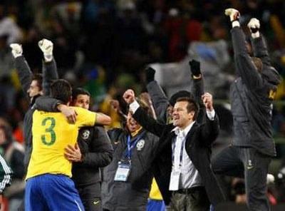 """Dunga: """"Brazil có niềm tin và đã chiến thắng"""" - 2"""