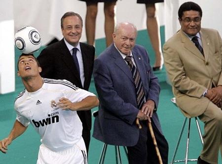 Lễ ra mắt hoành tráng của C. Ronaldo tại Real Madrid - 1