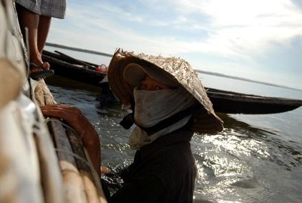 Chùm ảnh: Cào hến trên phá Tam Giang - 8